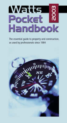 Watts Pocket Handbook 2003 (Paperback)