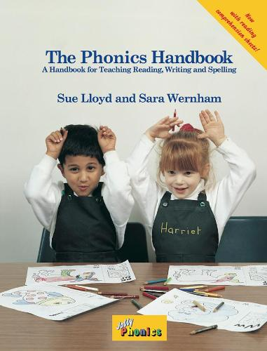 The Phonics Handbook: in Precursive Letters (BE) (Spiral bound)