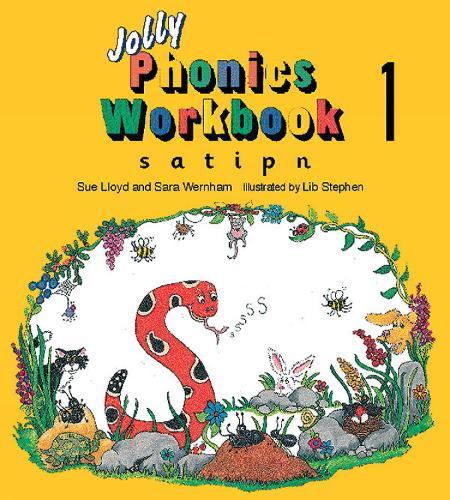 Jolly Phonics Workbook 1: in Precursive Letters (British English edition) - Jolly Phonics: Workbook (Paperback)