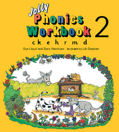 Jolly Phonics Workbook 2: in Precursive Letters (British English edition) - Jolly Phonics: Workbook (Paperback)