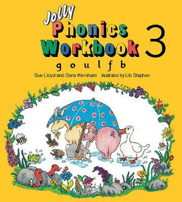 Jolly Phonics Workbook 3: in Precursive Letters (British English edition) - Jolly Phonics: Workbook (Paperback)