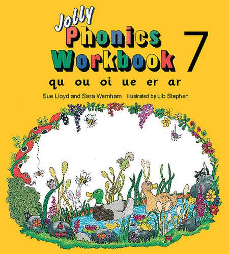 Jolly Phonics Workbook 7: in Precursive Letters (British English edition) - Jolly Phonics: Workbook (Paperback)