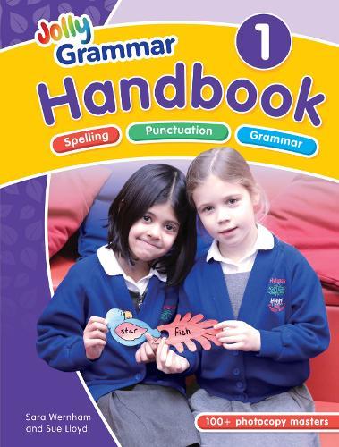 The Grammar 1 Handbook: In Precursive Letters (British English edition) (Spiral bound)