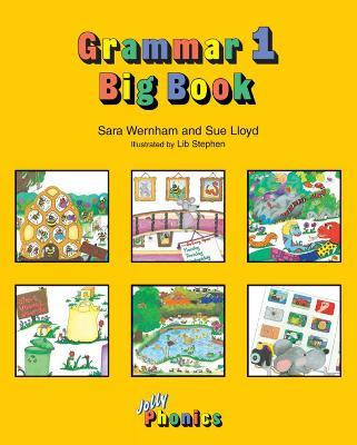 Grammar Big Book 1: in Precursive Letters (AE) (Paperback)