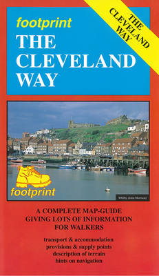 The Cleveland Way: Map/Guide (Sheet map, folded)