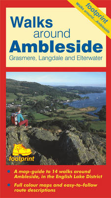Walks Around Ambleside: Map/Guide (Sheet map, folded)