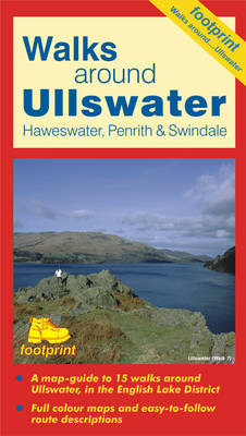 Walks Around Ullswater: Haweswater, Penrith and Swindale (Sheet map, folded)