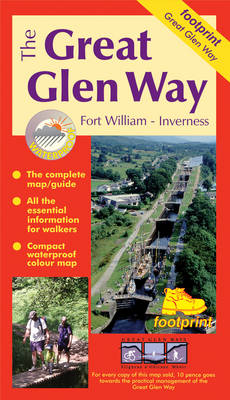 The Great Glen Way: Fort William - Inverness - Footprint Maps (Sheet map, folded)