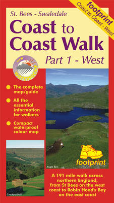 Coast to Coast Walk: St.Bees to Swaledale Pt. 1 - Long distance walks maps (Sheet map, folded)