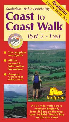 Coast to Coast Walk: East: Map and Guide - Long distance walks maps (Sheet map, folded)