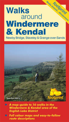 Walks Around Windermere: Kendal, Sawry and Newby Bridge (Sheet map, folded)