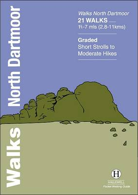 Walks North Dartmoor - Hallewell Pocket Walking Guides (Paperback)