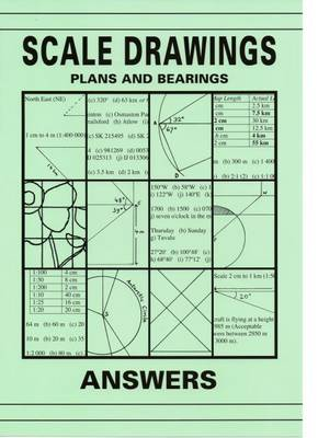 Scale Drawings, Plans and Bearings Answers (Paperback)