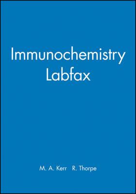 Immunochemistry Labfax (Hardback)