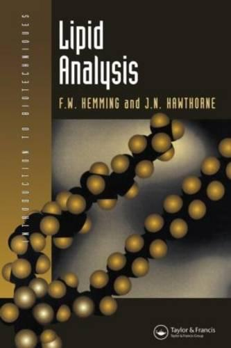 Lipid Analysis (Paperback)