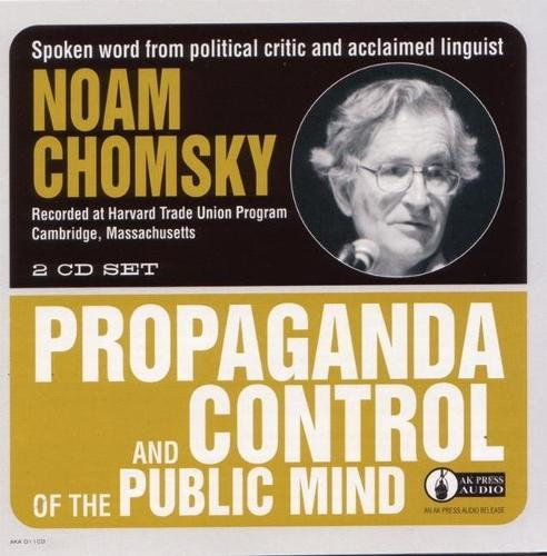 Propaganda And Control Of The Public Mind (CD-Audio)