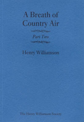 A Breath of Country Air: Pt. 2 (Paperback)