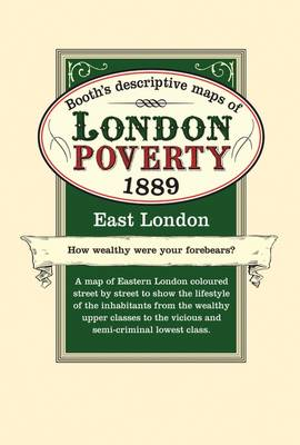 London Poverty Map 1889 East (Sheet map)