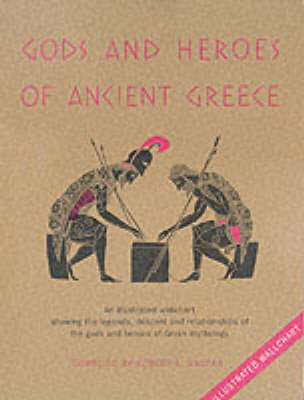 Gods and Heroes of Ancient Greece (Wallchart)