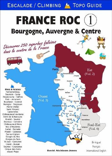 France ROC 1: 1: Bourgogne/Burgundy (Paperback)