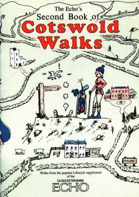 """Echo's"" Second Book of Cotswold Walks - Walkabout (Paperback)"