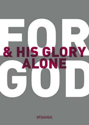 For God and His Glory Alone: No. 3: A Contribution Relating Some Biblical Principles to the Situation in Northern Ireland (Paperback)