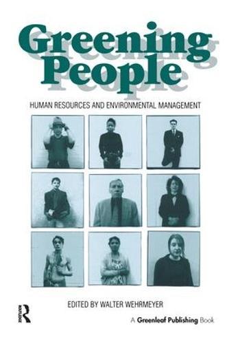Greening People: Human Resources and Environmental Management (Hardback)