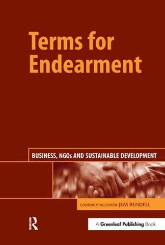 Terms for Endearment: Business, NGOs and Sustainable Development (Paperback)