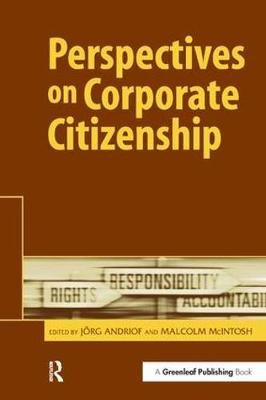 Perspectives on Corporate Citizenship (Hardback)