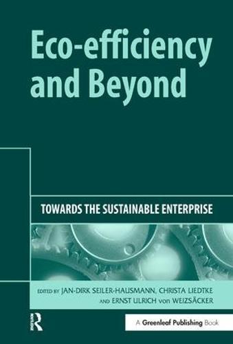 Eco-efficiency and Beyond: Towards the Sustainable Enterprise (Hardback)