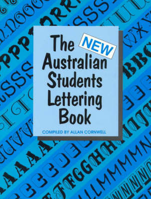 The New Australian Students Lettering Book (Paperback)
