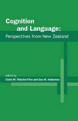 Cognition and Language: Perspectives from New Zealand (Paperback)