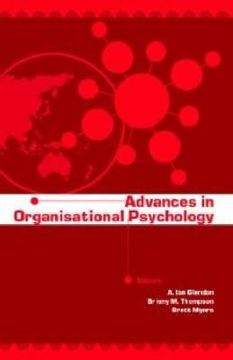 Advances in Organisational Psychology (Paperback)