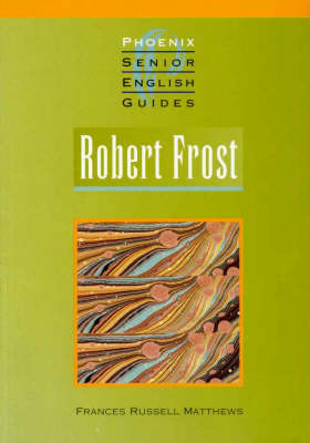 Robert Frost - Senior English Literature Guides (Paperback)