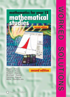 Mathematics for Year 12: Mathematical Studies (Paperback)