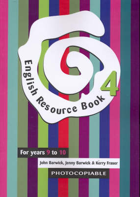 English Resource Book.: For Years 9 to 10 (Paperback)