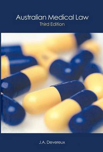 Australian Medical Law (Paperback)
