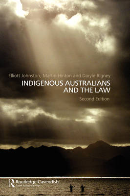 Indigenous Australians and the Law (Hardback)