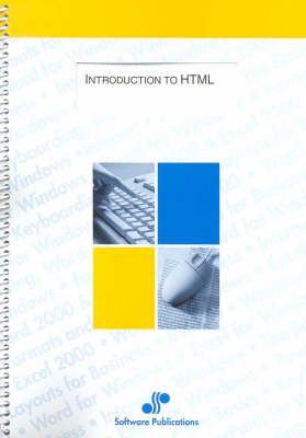 Introduction to Html (Spiral bound)