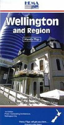 Wellington and Region: Handy Map - Standard (Sheet map)