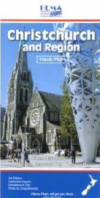 Christchurch and Region: Handy Map Standard (Sheet map)