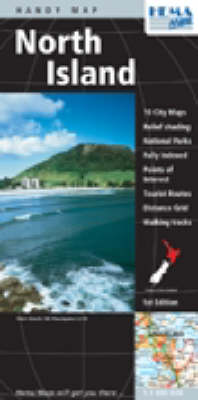New Zealand: North Island Handy Map Deluxe (Sheet map)