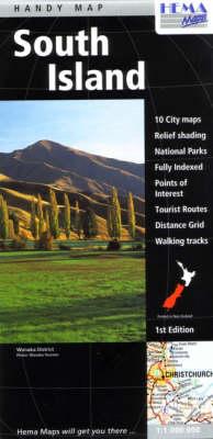 New Zealand South Island Handy Map (Paperback)