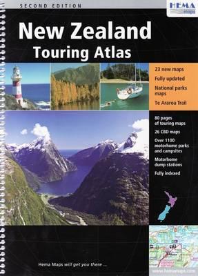 New Zealand Touring Atlas (Sheet map)