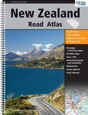 New Zealand Road Atlas (Spiral bound)