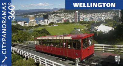 """Wellington - 360 Degree Citypanoramas - Pocket Edition - The """"Compacts"""" (Paperback)"""
