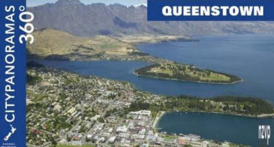 """Queenstown - 360 Degree Citypanoramas - Pocket Edition - The """"Compacts"""" (Paperback)"""