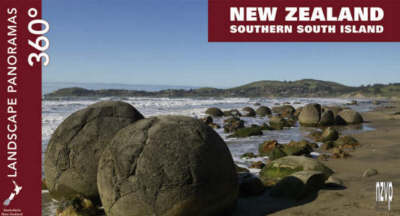 """New Zealand, Southern South Island - 360 Degree Landscape Panoramas - Pocket Edition - The """"Small Token or Souvenir"""" (Paperback)"""