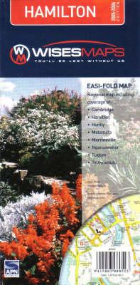 Hamilton Easi Fold Map (Sheet map, folded)