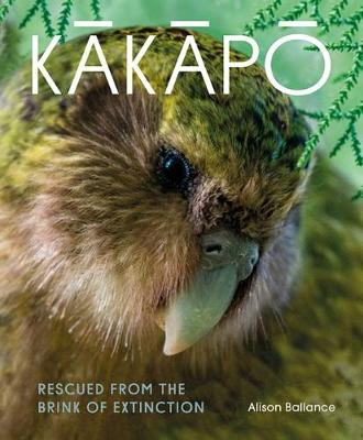 Kakapo: Rescued from the brink of extinction (Hardback)